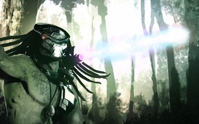 Picture background, predator, alien, Predator, thing