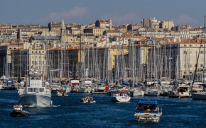 Picture sea, boat, France, home, yacht, Marseille