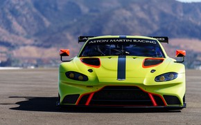 Picture Aston Martin, Vantage, racing car, 2018, GTE