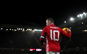 Picture Old Trafford, Wayne Rooney, Manchester Unaited