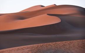 Picture sand, desert, Sands, Mongolia, Gobi