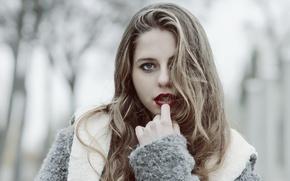 Picture look, model, hair, Alejandra Delgado