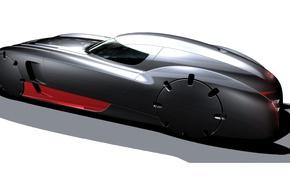 Picture Audi, concept, Nero