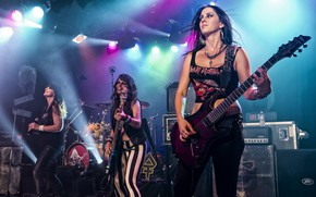 Picture Music, Concert, Group, The Iron Maidens