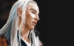 Picture elf, king, Thranduil
