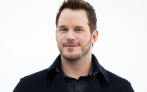 Wallpaper look, smile, actor, bristles, Chris Pratt, Chris Pratt