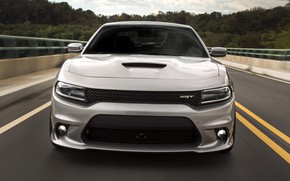 Picture road, speed, Dodge Charger