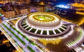 Picture night, lights, Park, football, The city, City, Russia, Russia, Stadium, Kuban, Krasnodar, Krasnodar, Kuban, Krasnodar, …
