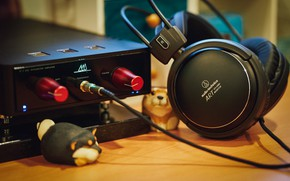 Picture music, headphones, ATH-A900x