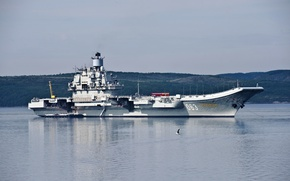 Wallpaper Admiral Kuznetsov, Heavy, aircraft carrier, cruiser, sea