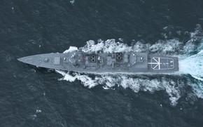 Picture destroyer, akizuki, Navy Japan self-defense