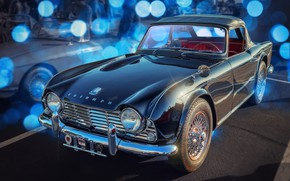 Wallpaper British, sports car, Triumph TR4