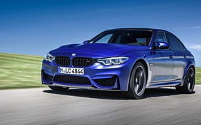 Picture speed, BMW, sedan, 2018, F80, BMW M3 CS