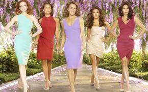 Picture Eva Longoria, series, Teri Hatcher, Desperate Housewives, Vanessa Williams, Lynette Excavation, Bree Van De Kamp, ...