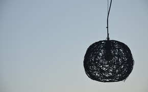 Picture The sky, Minimalism, Lamp, Abstraction