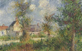 Picture picture, Gustave Loiseau, Gustave Loiseau, Landscape in Normandy