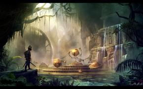 Picture balls, warrior, temple, Ancient mechanism, Mr Menuhin