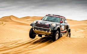 Picture Sand, Mini, Black, Desert, Speed, Race, Rally, SUV, Rally, 101, The front, Dune, X-Raid Team, …