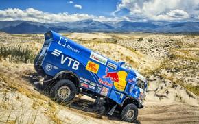 Picture Sand, Mountains, Sport, Truck, Race, Master, Russia, Kamaz, Rally, Dakar, KAMAZ-master, Dakar, Rally, KAMAZ, 507, …