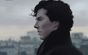 Picture Benedict Cumberbatch, Sherlock, Sherlock Holmes, by natalico