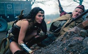Wallpaper cinema, film, armor, weapon, ken, rifle, sword, soldier, blade, movie, Wonder Woman, Lasso of Truth, ...