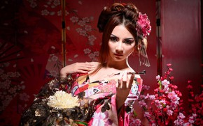Picture Girl, Pose, Hairstyle, Makeup, Outfit
