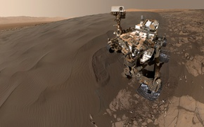 Picture planet, Mars, NASA, the Rover, Curiosity, Mars science laboratory