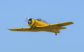 Picture easy, training aircraft, Harvard, Sk.16A, Noorduyn