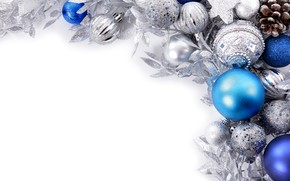 Picture balls, toys, new year, decoration
