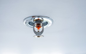 Picture fire protection, sprayer, pressure bulb