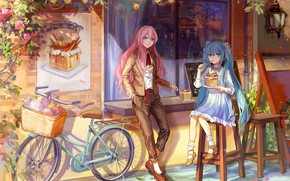 Picture girls, anime, Vocaloid