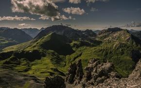 Picture mountains, Austria, Austria, Tyrol, Tirol, Except for remote