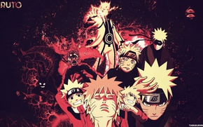Picture anime, Naruto Shippuden, Kyuubi, Uzumaki Naruto, Jinchuuriki