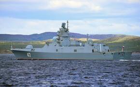 Picture frigate, patrol ship, Admiral Gorshkov