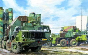 Picture Russia, SAM, Favorite, S-300, a family of anti-aircraft missile complexes