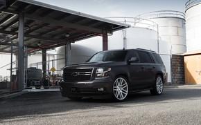 Picture Chevrolet, Gray, Tahoe, America, LTZ