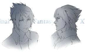Picture the game, portrait, art, guy, Final Fantasy XV, Noctis