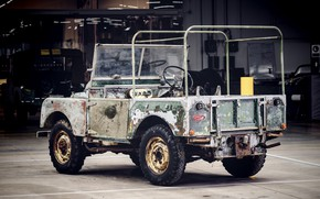 Picture Land Rover, body, frame, 1948, Series I, L 07