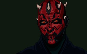 Picture Star Wars, Tattoo, Darth Maul, A Sith Lord, Zabrak, The Order Of The Sith