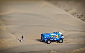 Picture Sand, Sport, Truck, Race, Master, Racer, Russia, Kamaz, Rally, Dakar, KAMAZ-master, Dakar, Rally, KAMAZ, 507, …