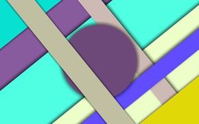 Picture round, figure, triangle
