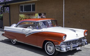 Picture Ford, 1956, Fairlane, Victoria, 2-door