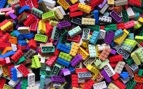 Picture Lego, brick, special colors