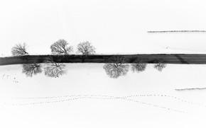 Picture winter, road, Fargo