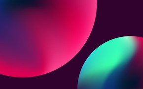 Picture balls, paint, dark