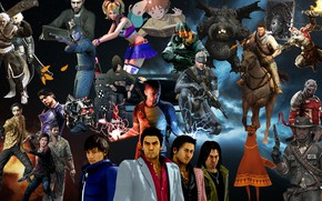 Picture god of war, heavy rain, darkness, lolipop, uncharted 3, playstation 3 games, silent hill downpour, …