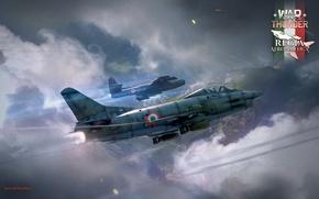 Picture Italy, Fighters, War Thunder, Regia Aeronautica, Italian light fighter, Fiat G.91