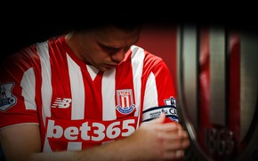 Picture wallpaper, sport, logo, football, player, Stoke City, capitain