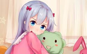 Picture kawaii, bear, rabbit, anime, pretty, manga, japanese, oriental, sugoi, bishojo, kuma, EroManga-Sensei, mussune, Sagiri Izumi, …