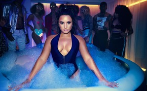 Picture look, POSE, STYLE, MAKEUP, EYES, Demetria Devonne Lovato, Demetria Devonne Lovato, DEMI LOVATO, SINGER, Actress